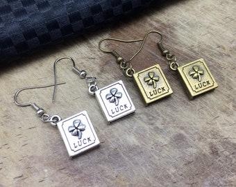 3052834ab40d9 Library earrings | Etsy