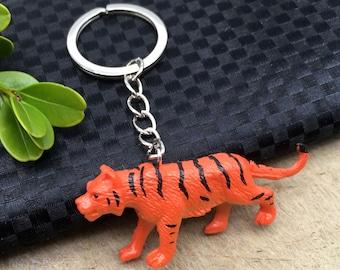 Tiger Keychain Tiger Keyring Tiger Gift Cat Keychain Cat Keyring Cat Gift  Tiger Pendant Tiger Charm Animal Keychain Animal Gift Lion Leopard 6f935b9490