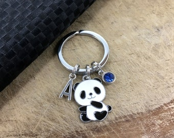 Panda Keychain Etsy
