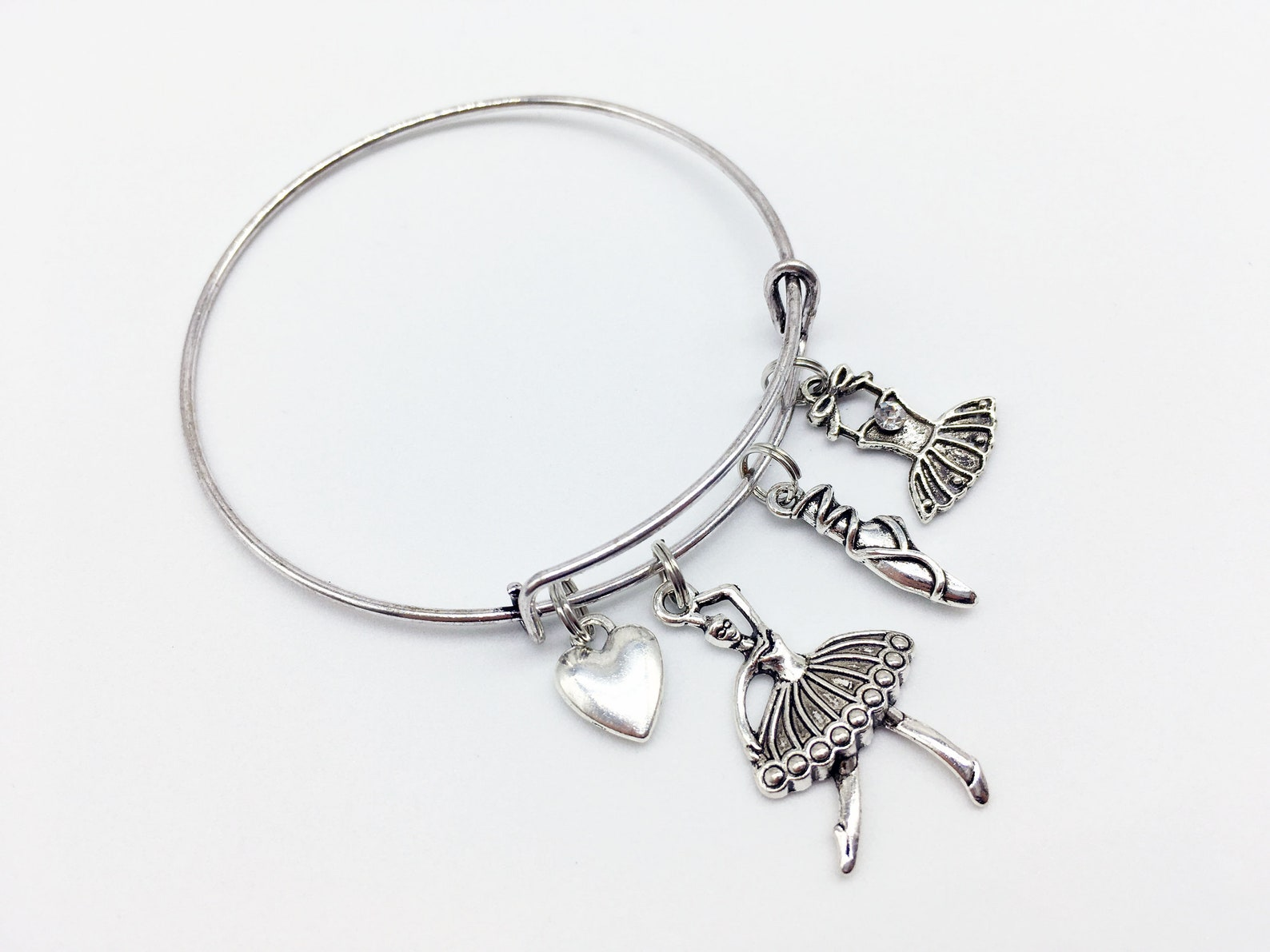 ballet bangle ballet jewelry ballet gift pointe shoe tutu ballet dancer ballet pendant ballerina bangle ballerina bracelet balle