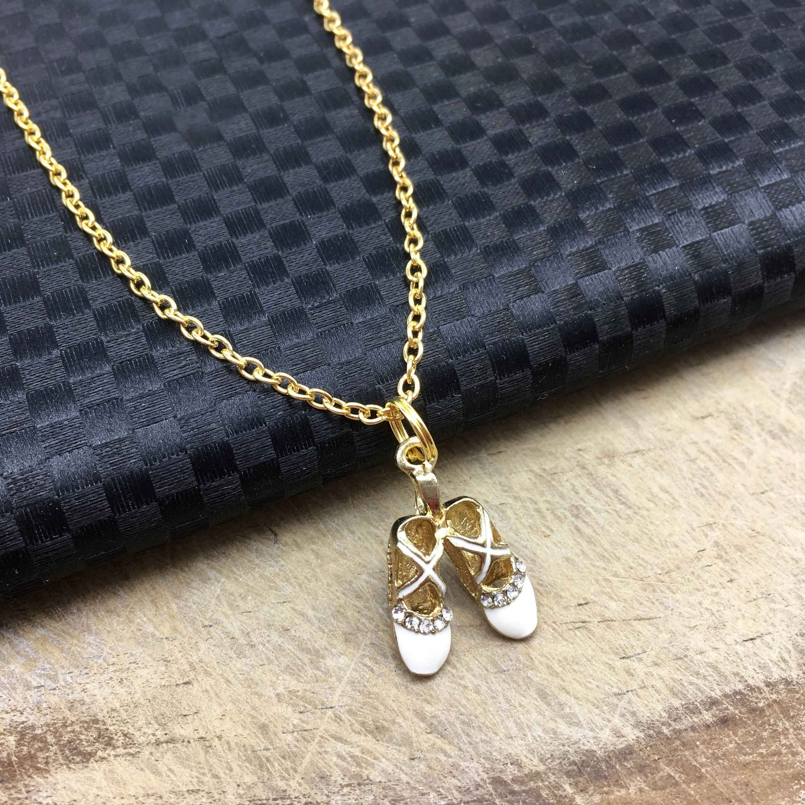 ballet shoes necklace ballet jewelry ballet gift dancer jewelry dancer gift dancer necklace ballet shoes charm ballet shoes pend