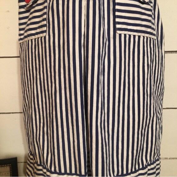 Vintage Stripped 70s Mini Dress - image 5