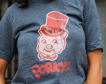 97abf1bd Porkys Unisex T-Shirt - Minneapolis St. Paul Bygone Brand retro tees
