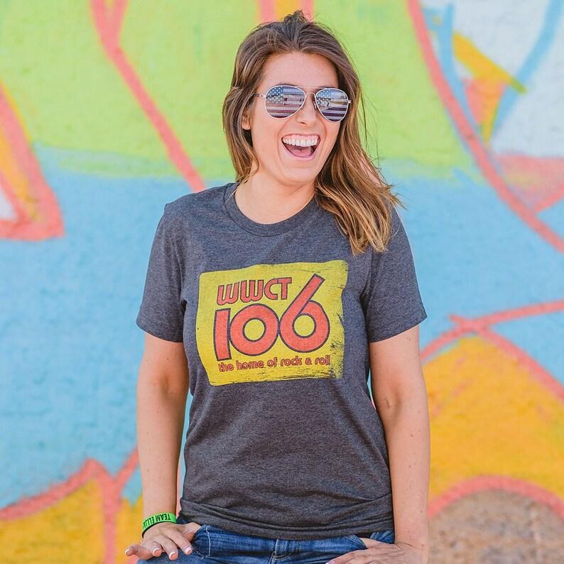 deb84e53 WWCT 106 Unisex T-Shirt Peoria Bygone Brand retro tees | Etsy