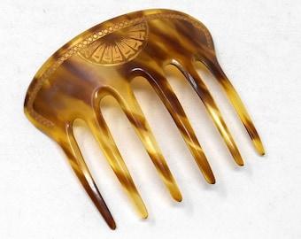 Epingle à Cheveux Argenté Géométrique Art Deco Pavé Mariage Retro Lot de 2 EP1
