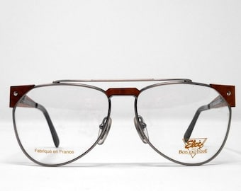 a3dbf8a521d5 fabulous vintage sunglasses lunettes eyeglasses 1970 real wood carved frame  france rare