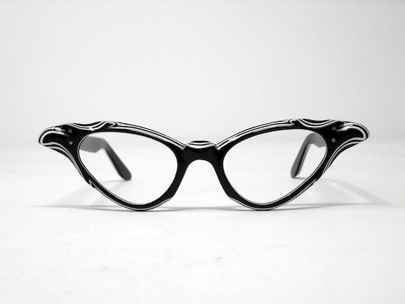 fabulous vintage lunettes eyeglasses 1960 cat eye