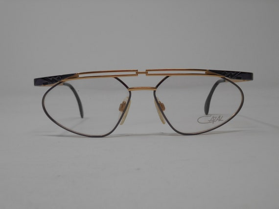 fabulous vintage lunettes eyeglasses CAZAL carved