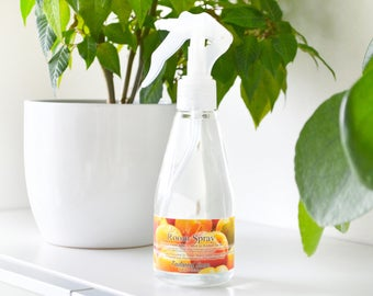 Apricot Freesia Home Fragrance Mist Spray - Air Mist Room Spray - Car Freshener - Freesia Flowers