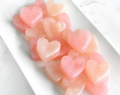 Blush Pink Wedding Favors Soap - Blush Heart Soap Bridal Shower Favor Ideas - Cute Baby Shower Decoration - Summer Wedding Favor For Guest