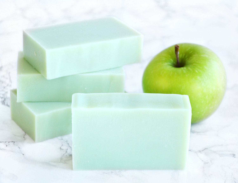 Apfel Seife Grüner Apfel Lehrer Geschenke Lehrer | Etsy
