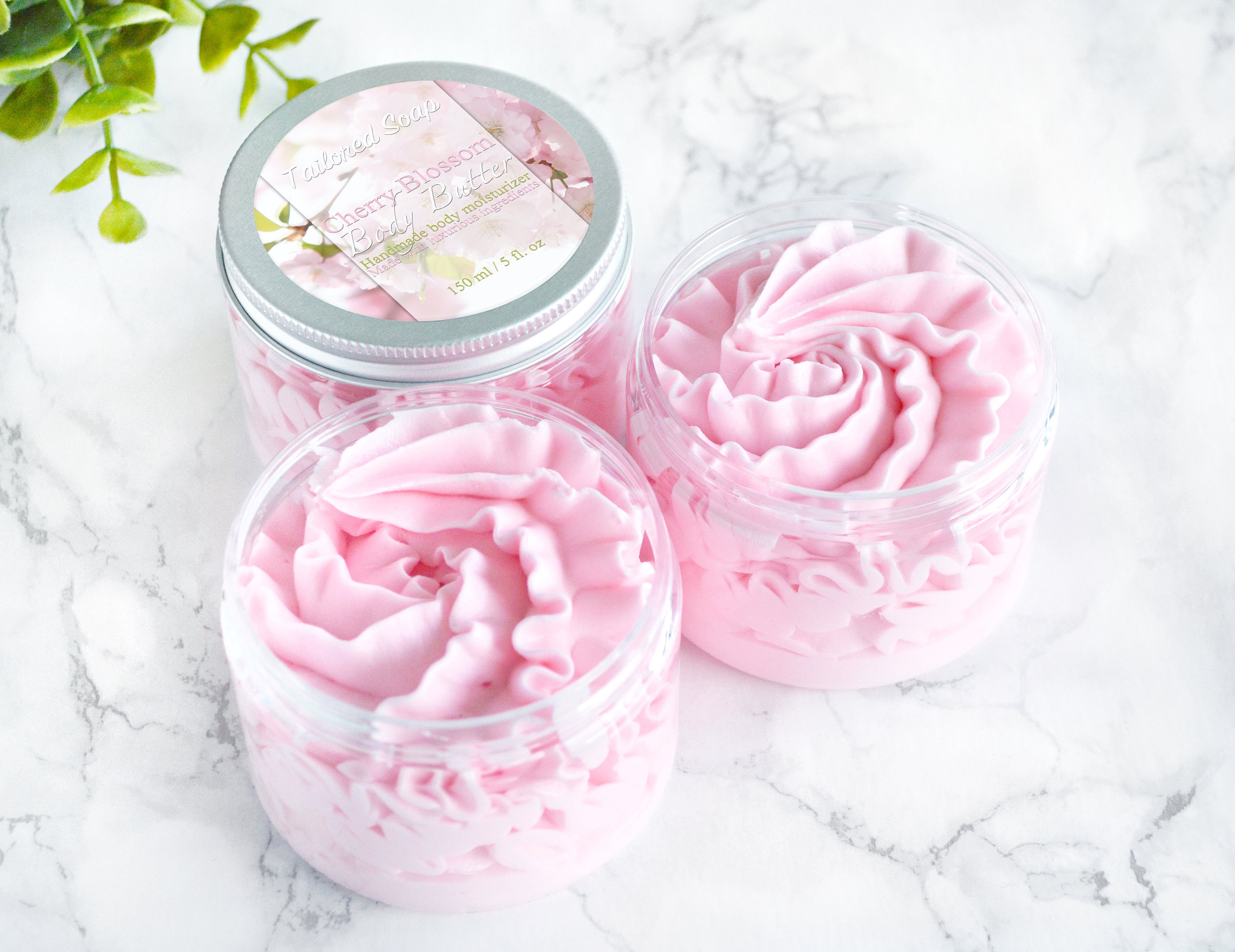 Cherry Blossom Body Butter Whipped Mother\'s Day Gift For   Etsy