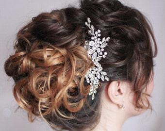 Crystal Hair Clip Decorative Hair Clip Bridal Hair Pin Hair Comb Rhinestone Wedding Hair Comb Crystal HeadPiece Wedding Headpiece