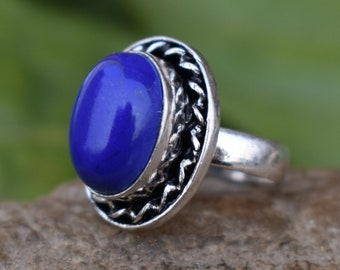 Fashion Ring Handcrafted Fashion Ring Chavorite /& Rainbow Moonstone Ring Lovely Stone Ring AJR-1374 Purple and White Gemstone Ring