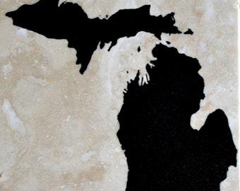 Michigan Coasters Set of 4
