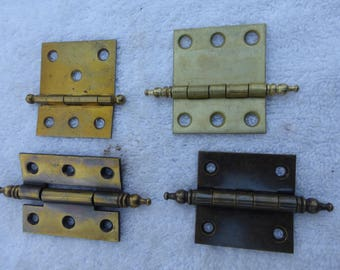 FOUR Fancy Cabinet Hinges  Different Styles Configurations