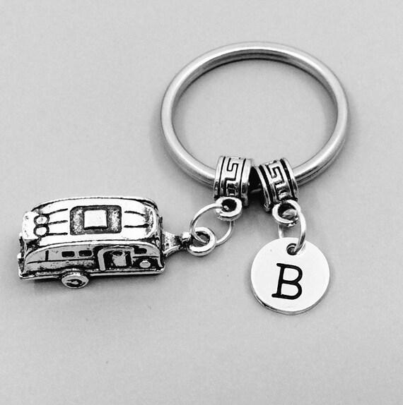 Porte clé véhicule récréatif, RV porte-clés, meilleur ami porte-clés, RV porte-clé, RV porte-clés, Custom charme porte-clé, caravane keychain, cmper