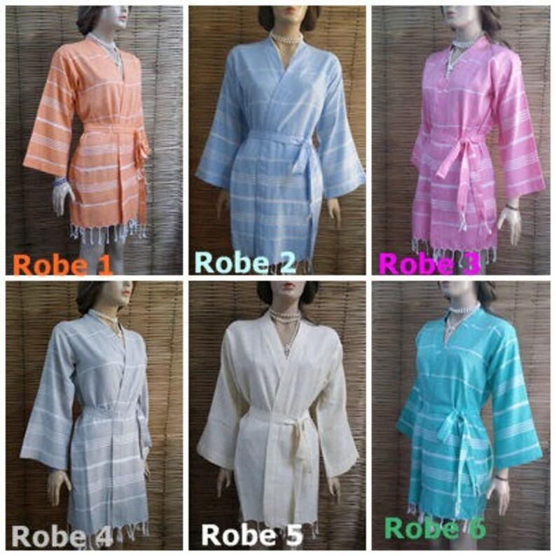 turkish bathrobe,turkish kimono robe,kaftan robe 8 set of bridesmaid robe