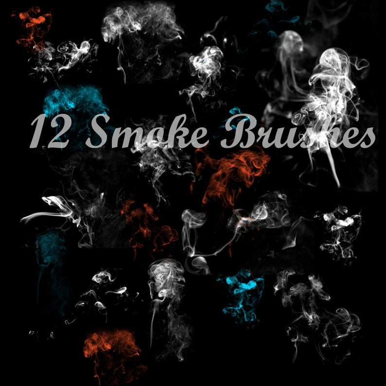 promo code 2c868 47799 Real Smoke Brushes for Photoshop and Photoshop Elements. Use for  photography, scrapbooking, etc. Perfect for Halloween projects too!