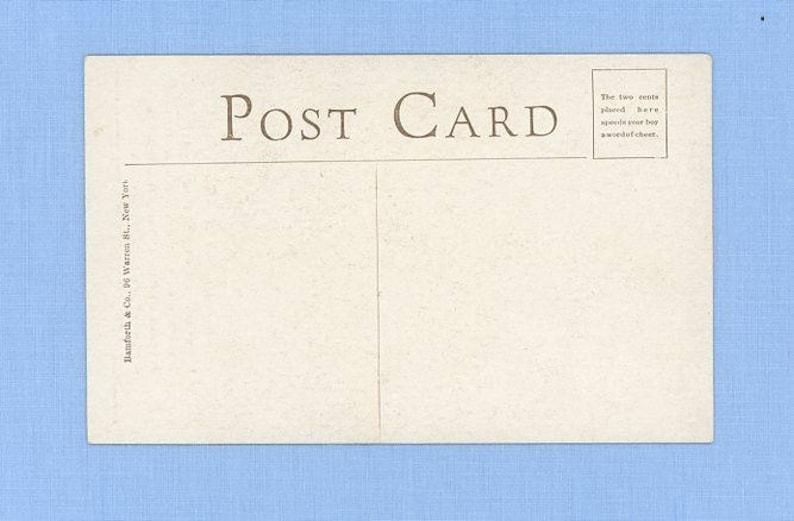1915 Postcard Sentimental Prayer for Safety World War Soldier Dreaming of his Girlfriend