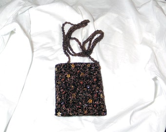 indian beaded purse,vintage 70's purse,women accessories