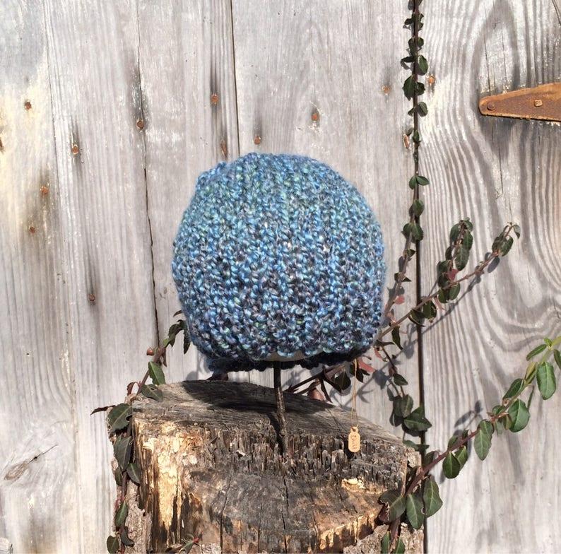 Squishy Blue Beanie