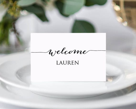 Place Card Template Seating Cards Template Place Cards Template Seating Cards Place Cards Printable Christmas Place Cards Escort Cards
