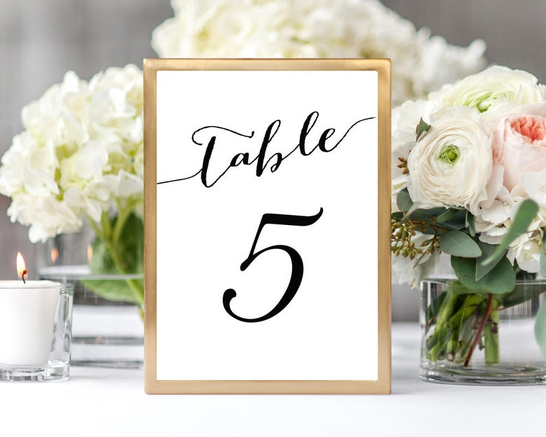Phenomenal 1 50 Table Numbers Printable Table Numbers Wedding Table Numbers Cards Table Numbers Framed Table Numbers Template Wedding Table Numbers Download Free Architecture Designs Embacsunscenecom