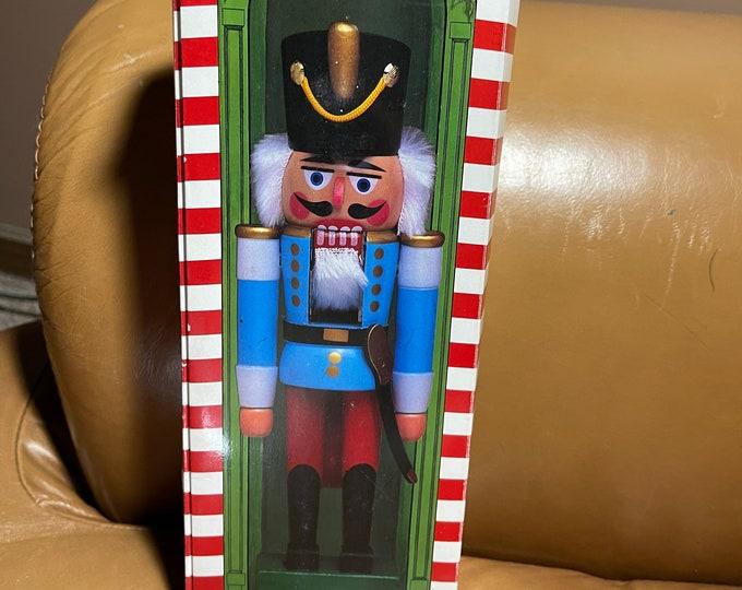 Christmas Nutcracker Suite Soldier Figurine, Nutcracker Statue and Story