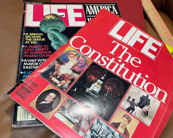 Life Magazines Vintage, America the Wondrous, The Constitution