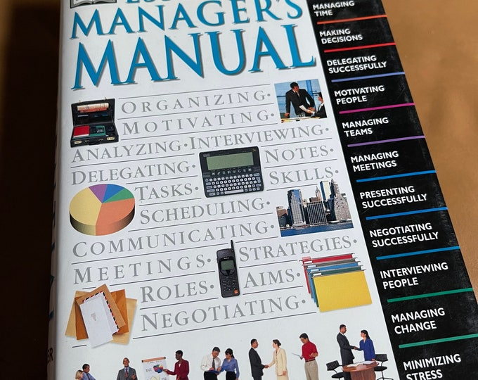 DK Essential Manager's Manual Book, Office  Manager Guide Hardback Book