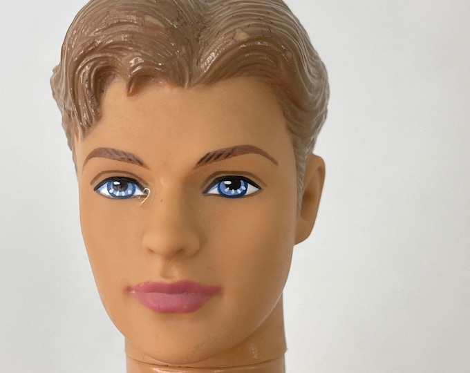 Ken Doll 1968, Vintage Collectible Unisex Toy, Retro Pretend Play