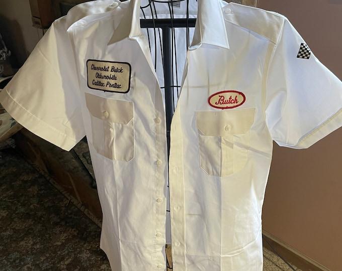 Unisex Vintage Work Shirt
