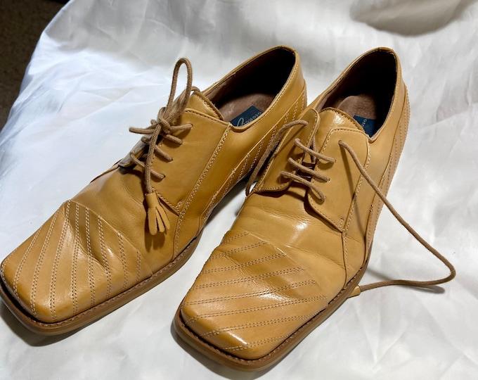 Men's Leather Shoes, Size 9 Oxford Shoes, Giorgio Brutini