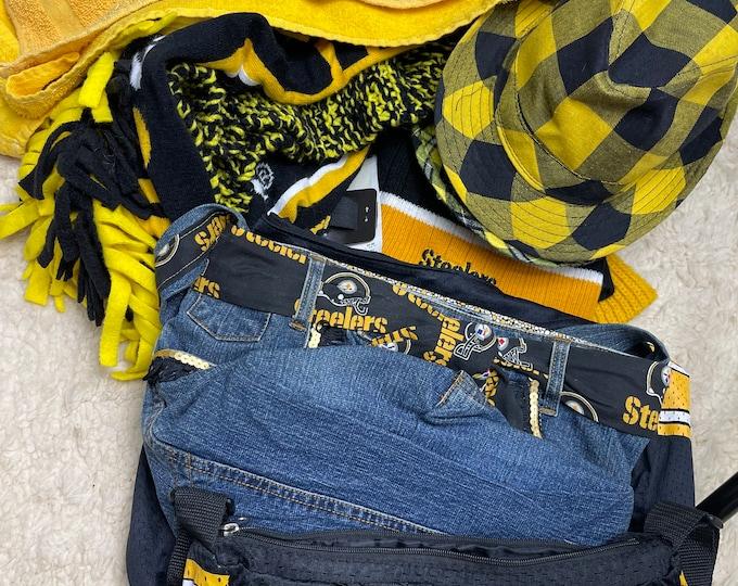 Pittsburgh Steeler Fan Accessories, Football Game Costume, Steeler Team Paraphernalia