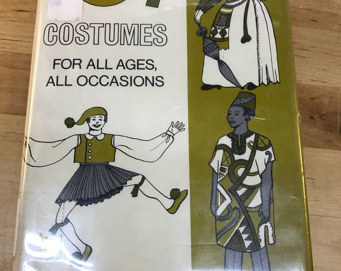 Costumes For All Occasions Book, Handmade Costumes Guide, How to make your own costume