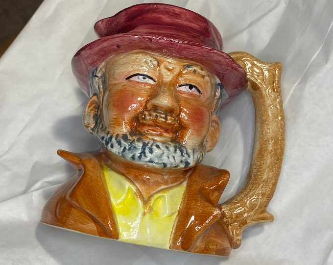 Toby Mug, Vintage Artmark Toby Jug, Collectible Figurine Head
