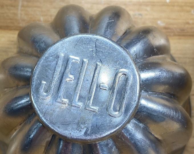 Retro Jello Molds, Aluminum Dessert Cups, Mid Century Cooking