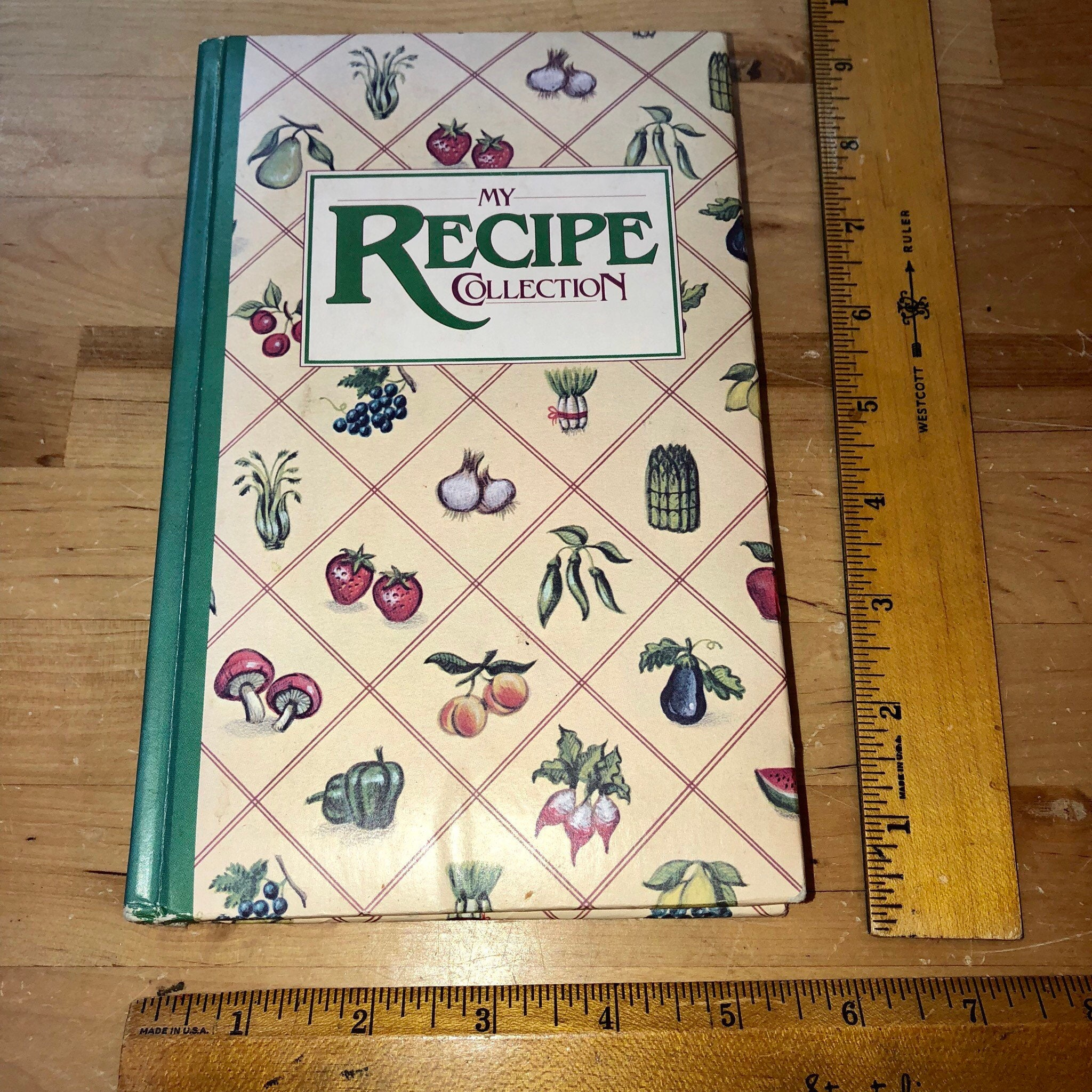 Personal Recipe Keeper - Vintage Quill Mark My Recipe ...