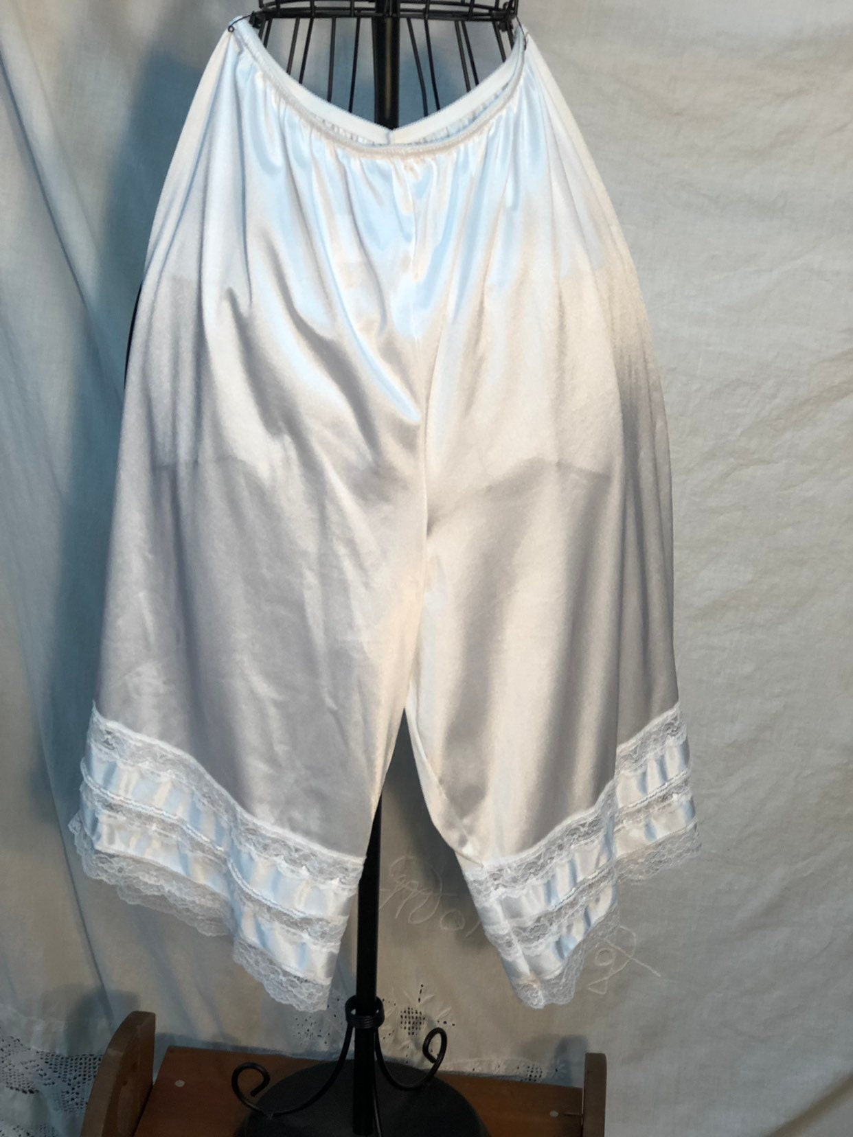 Bloomers Vintage Under Garments White Old Fashioned Womens Knickers
