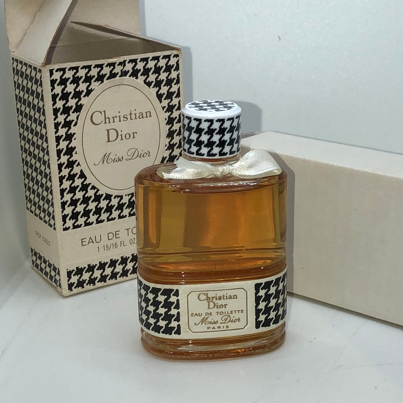 Perfume Collectible Christian Dior Eau Ee Toilette Miss Etsy