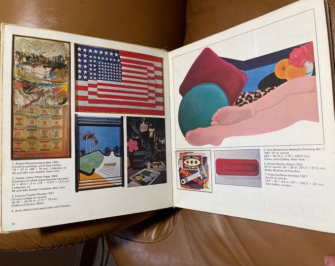 Pop Art Book, Vintage Movements of Modern Art Hardback Book, Retro Artistry