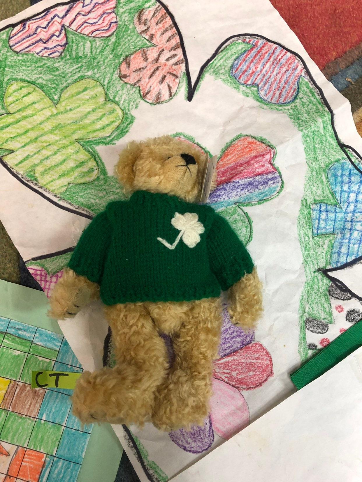 Blarney Beanie Baby Bear - Kiss Me I m Irish - St. Patrick s Day ... c1c2c3113502