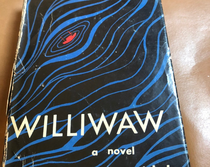Williwaw A Novel by Gore Vidal, First Edition Book, Vintage Collectible Book