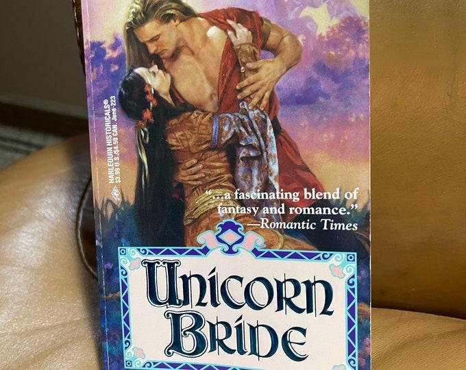 Unicorn Bride Book, Romance Literary Novel Paperback, Fantasy Love Story Literature