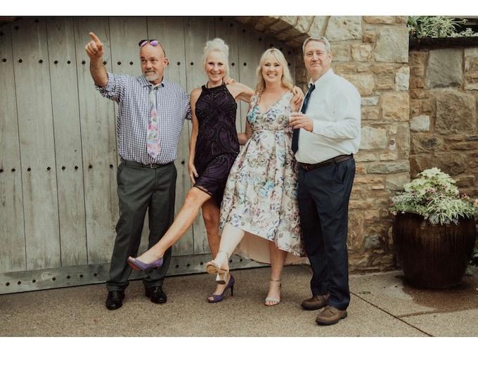 Purple Formal Dress, Black Beaded Party Sheath Dress, Fancy Dress