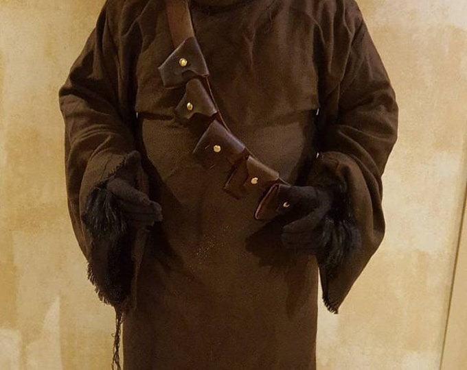 Star Wars Full ANH Jawa Outfit with Mask/Hood