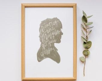 "Ron Weasley ""Muggles"" Printable Wall Art - digital download file poster"