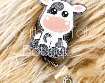 Cow Badge reel