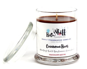 Cinnamon Buns - Scented Candles, Soy Candles, Handmade Candles, Scented Candle, Aromatherapy Candles, Cinnamon Buns Candle, Cinnamon Scented